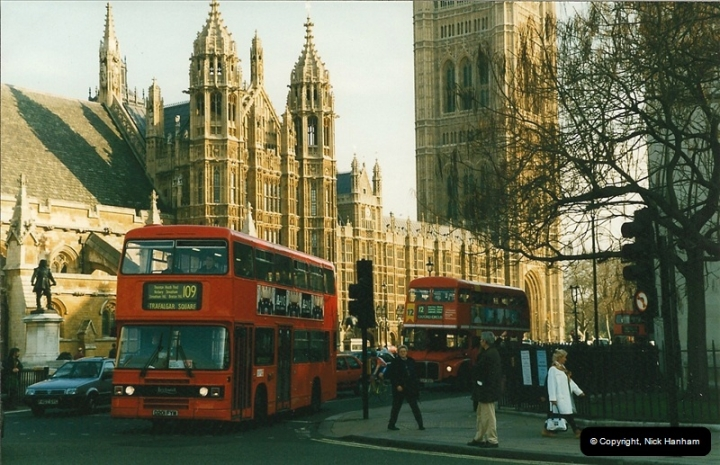 London Buses 1963 to 2007.  (219) 219