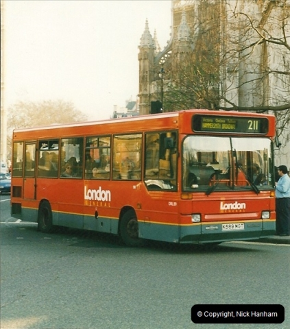 London Buses 1963 to 2007.  (221) 221