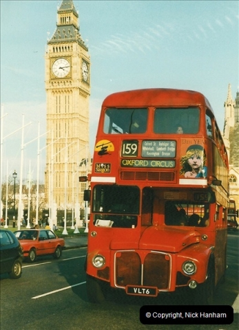 London Buses 1963 to 2007.  (223) 223