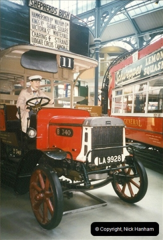 London Buses 1963 to 2007.  (234) 234