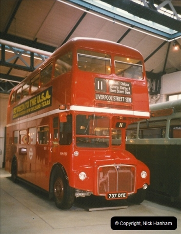 London Buses 1963 to 2007.  (236) 236