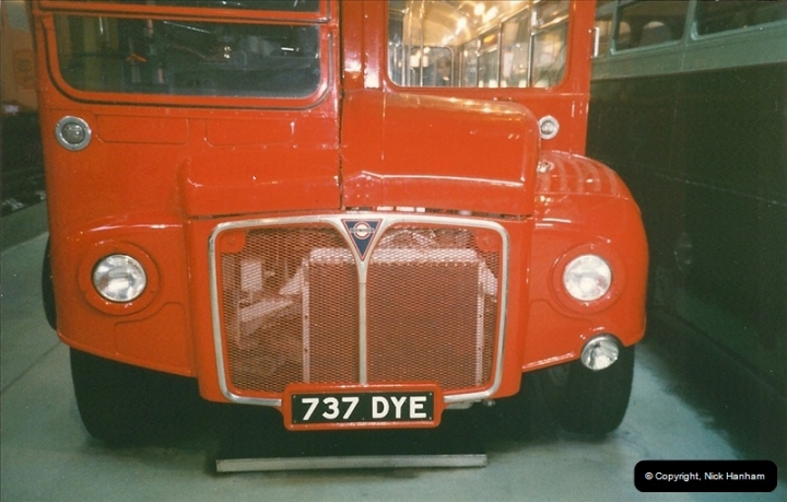 London Buses 1963 to 2007.  (237) 237
