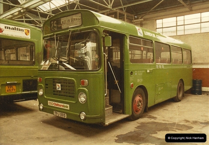 London Buses 1963 to 2007.  (24) 024