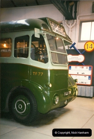 London Buses 1963 to 2007.  (243) 243