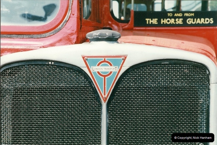 London Buses 1963 to 2007.  (249) 249