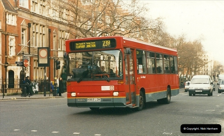 London Buses 1963 to 2007.  (252) 252