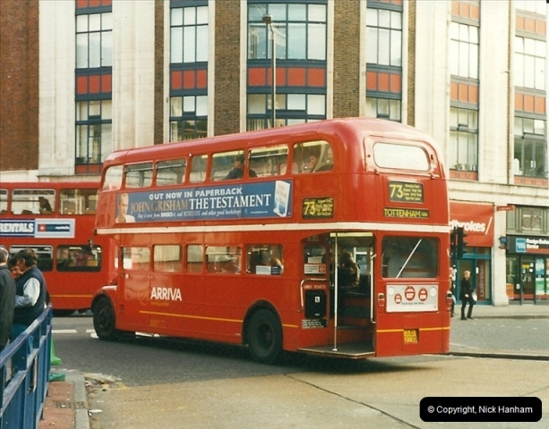 London Buses 1963 to 2007.  (258) 258