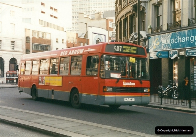 London Buses 1963 to 2007.  (275) 275