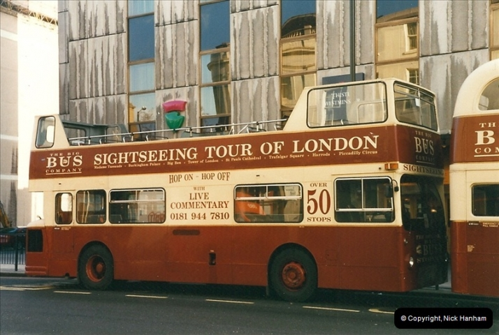 London Buses 1963 to 2007.  (276) 276