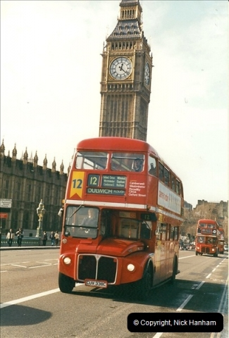 London Buses 1963 to 2007.  (288) 288