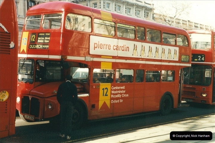 London Buses 1963 to 2007.  (293) 293
