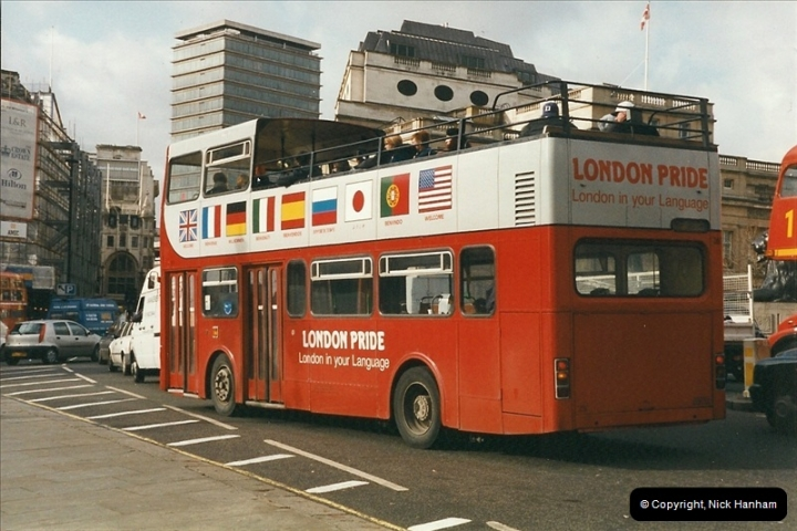 London Buses 1963 to 2007.  (297) 297