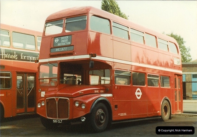 London Buses 1963 to 2007.  (3) 003
