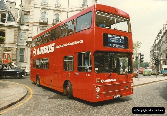 London Buses 1963 to 2007.  (30) 030