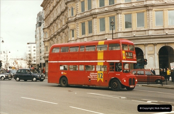 London Buses 1963 to 2007.  (300) 300