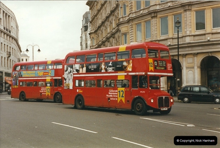 London Buses 1963 to 2007.  (301) 301