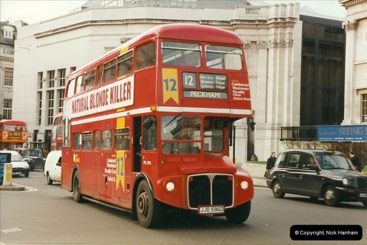 London Buses 1963 to 2007.  (303) 303