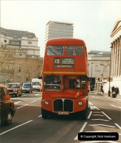 London Buses 1963 to 2007.  (306) 306