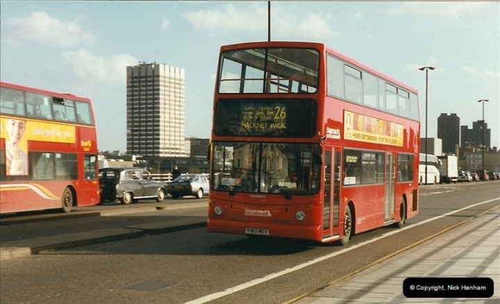 London Buses 1963 to 2007.  (312) 312