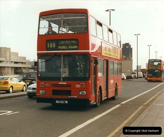 London Buses 1963 to 2007.  (317) 317