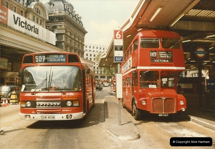 London Buses 1963 to 2007.  (32) 032