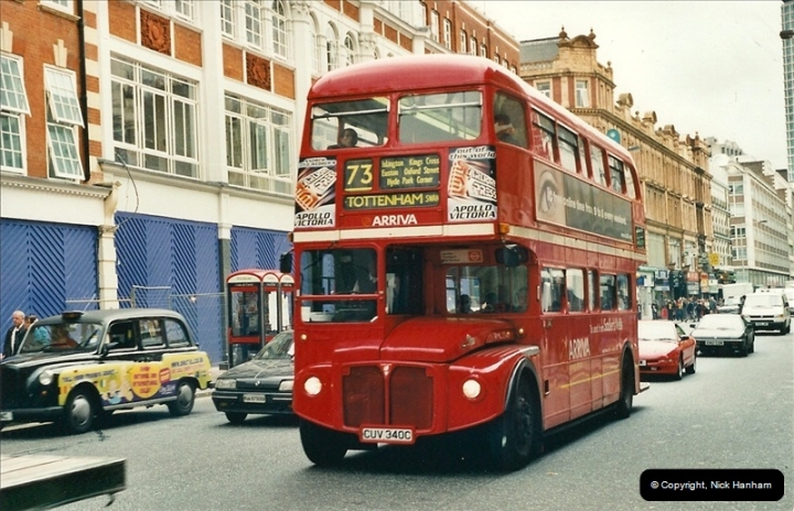 London Buses 1963 to 2007.  (335) 335