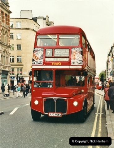 London Buses 1963 to 2007.  (338) 338