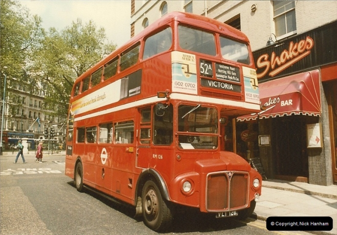 London Buses 1963 to 2007.  (34) 034