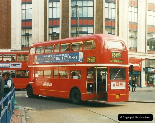 London Buses 1963 to 2007.  (348) 348