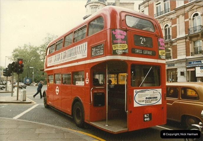 London Buses 1963 to 2007.  (35) 035
