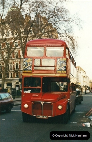 London Buses 1963 to 2007.  (355) 355