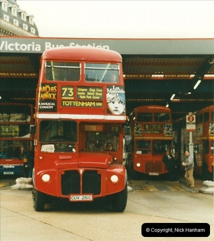 London Buses 1963 to 2007.  (357) 357