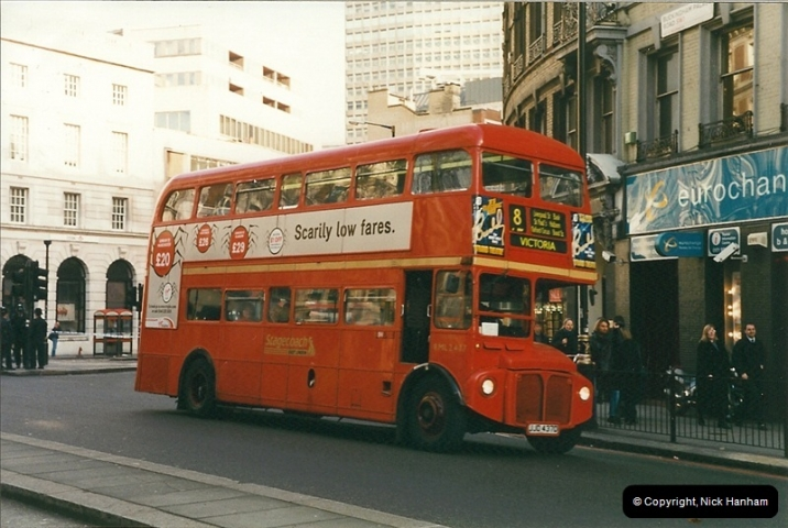 London Buses 1963 to 2007.  (369) 369