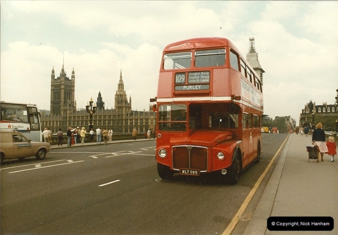 London Buses 1963 to 2007.  (37) 037