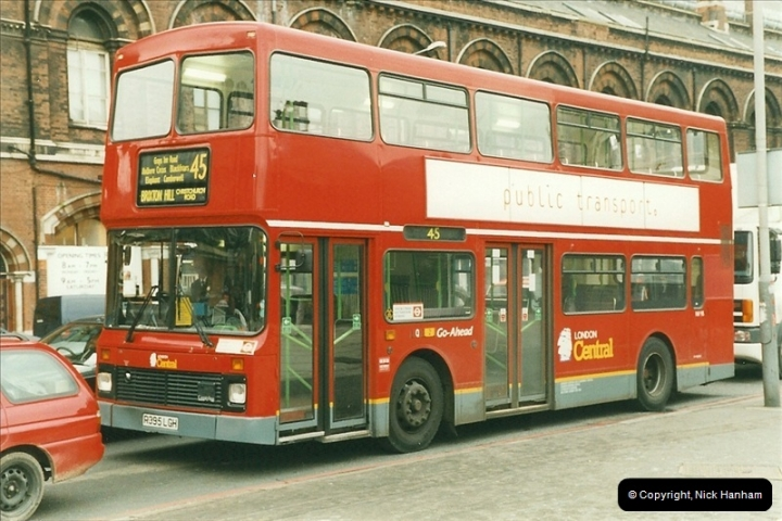 London Buses 1963 to 2007.  (376) 376