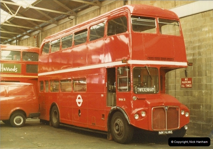 London Buses 1963 to 2007.  (4) 004