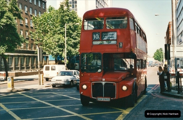 London Buses 1963 to 2007.  (404) 404