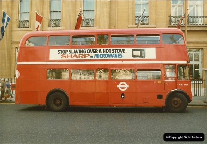 London Buses 1963 to 2007.  (42) 042