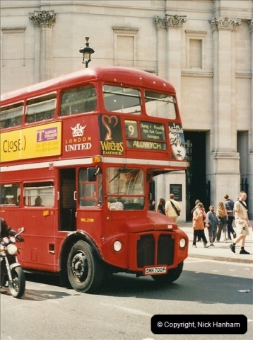 London Buses 1963 to 2007.  (448) 448