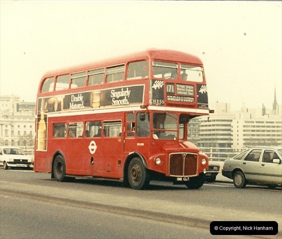 London Buses 1963 to 2007.  (45) 045
