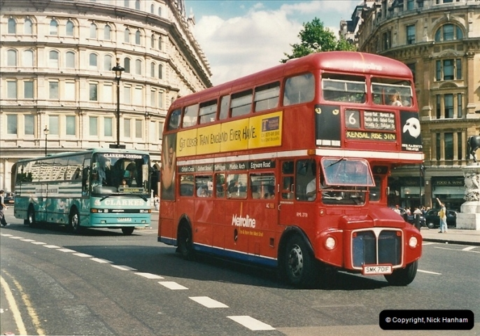 London Buses 1963 to 2007.  (456) 456