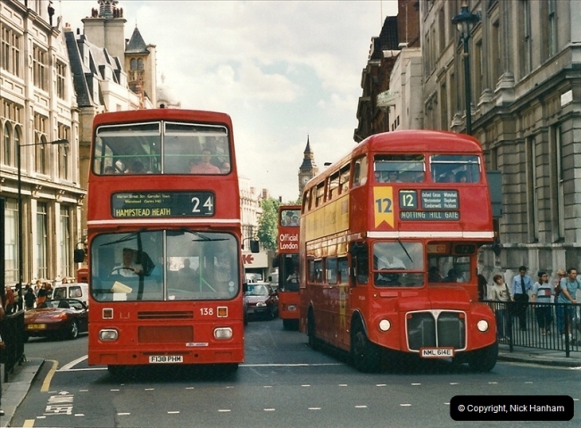 London Buses 1963 to 2007.  (459) 459