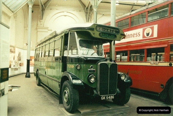 London Buses 1963 to 2007.  (46) 046