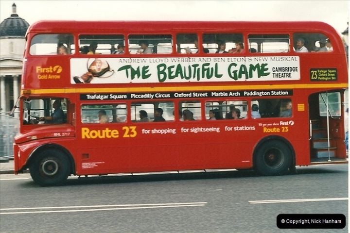 London Buses 1963 to 2007.  (460) 460