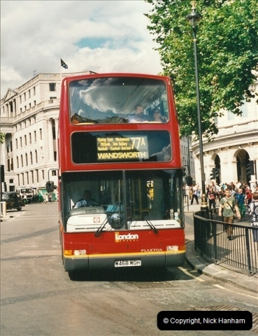 London Buses 1963 to 2007.  (463) 463