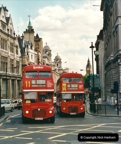 London Buses 1963 to 2007.  (465) 465