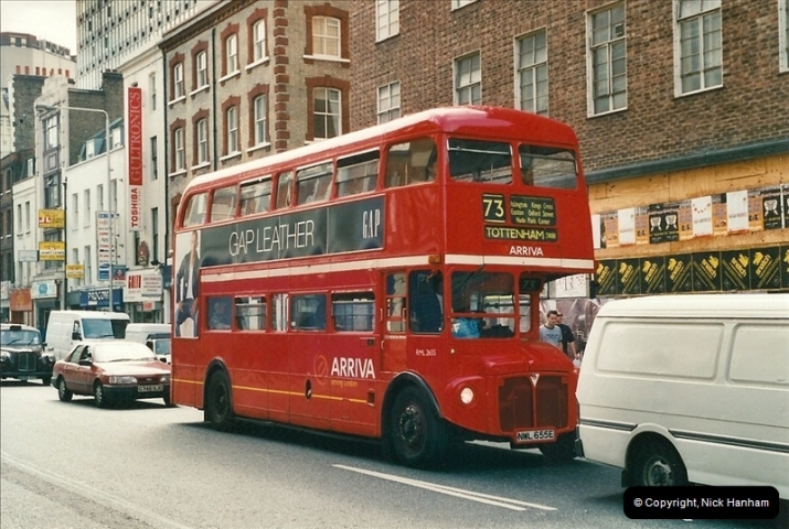 London Buses 1963 to 2007.  (468) 468