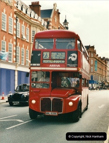 London Buses 1963 to 2007.  (470) 470