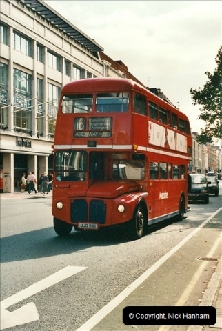 London Buses 1963 to 2007.  (471) 471