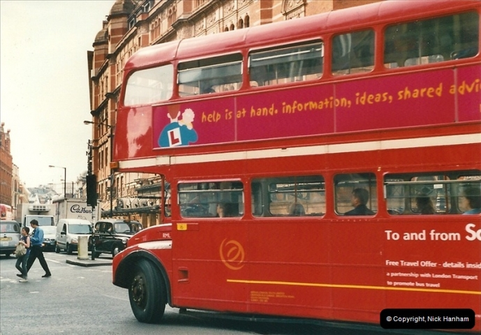 London Buses 1963 to 2007.  (478) 478